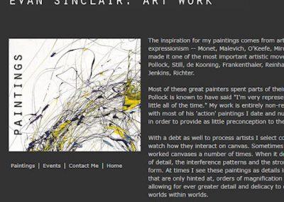 Evan Sinclair Art