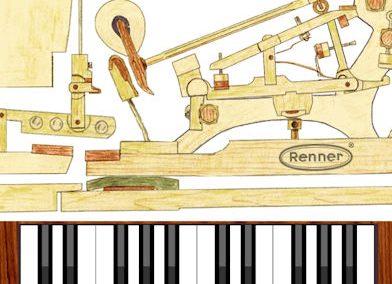 Renner USA Virtual Piano Action